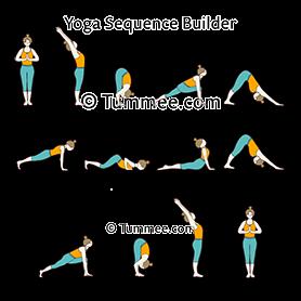 classic sun salutation variation f yoga classic surya