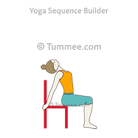Cobra Pose Chair  (Bhujangasana Chair)