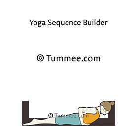 cobra pose variation arms yoga bhujangasana variation