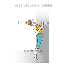 Cobra Pose Wall (Bhujangasana Wall)