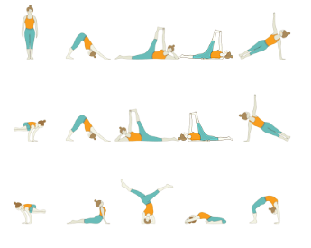 Hatha Yoga - Peak Pose Yoga Sequence: Core Yoga Sequence With Samanasana