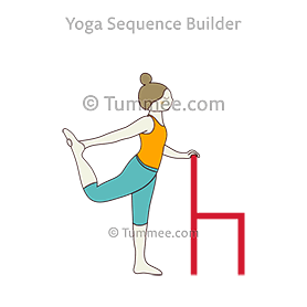 dancer pose natarajasana variations  14 variations of