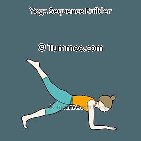grasshopper pose flow yoga parsva bhuja dandasana vinyasa