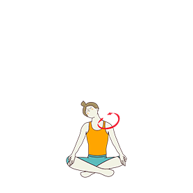 Easy Pose Neck Rotation (Sukhasana Neck Rotation)
