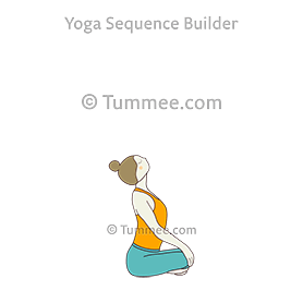 Seated Cow Pose (Upavistha Bitilasana)
