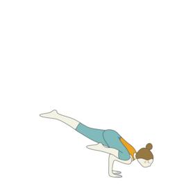 one legged crane pose eka pada bakasana  yoga benefits