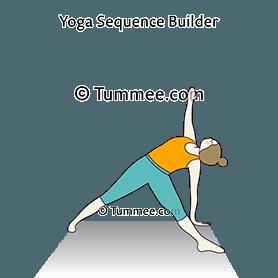 fallen triangle pose yoga fallen star pose  yoga