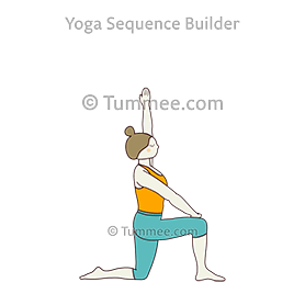 how to do parighasana variation lunge  tummee