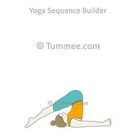 halasana yoga plough pose  yoga sequences benefits