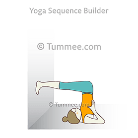 ardha halasana yoga half plough pose  yoga sequences