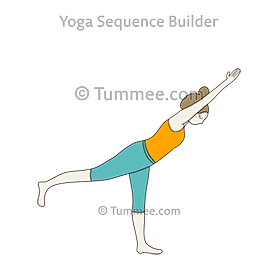half warrior pose iii yoga ardha virabhadrasana iii