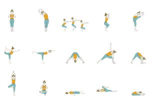 Hot Yoga - Hot Yoga Sequence