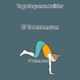 Grasshopper Pose Flow Yoga (Parsva Bhuja Dandasana Vinyasa ...