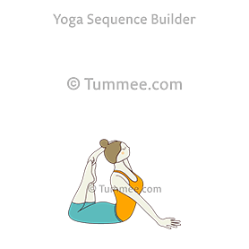 half pigeon pose yoga ardha kapotasana  yoga sequences