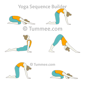 Kneeling Sun Salutation Sequence