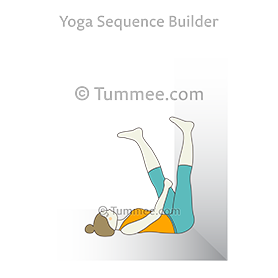 legs up the wall pose bolster yoga  yoga sequences