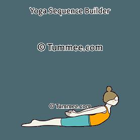 locust pose variation yoga salabhasana variation  yoga