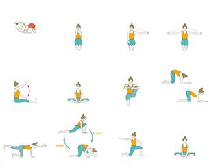 Postnatal Yoga - Mom And Baby Yoga: Daily Yoga With The Baby