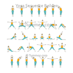 Moon Salutation Variation B (Chandra Namaskar Variation B)
