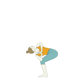 yoga sequence for bharadvajasana with preparatory and