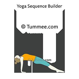 purvottanasana yoga upward plank pose  yoga sequences