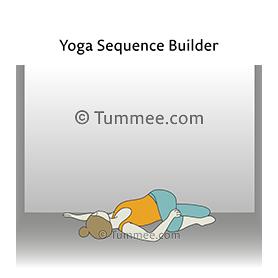 scorpion twist pose yoga  yoga sequences benefits