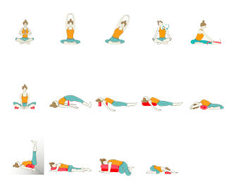 Intermediate Yoga - Restorative Yoga Sequence with Minimal Props