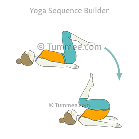 cycling pose yoga pada sanchalanasana  yoga sequences