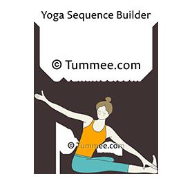head on knee pose strap yoga janu sirsasana strap  yoga