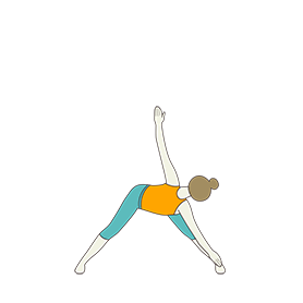 Revolved Wide Legged Forward Bend Pose A (Parivrtta Prasarita Padottanasana A)