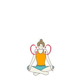 yoga sequence for neck and shoulders yoga poses for neck