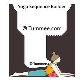 sphinx pose yoga niravalasana  yoga sequences benefits