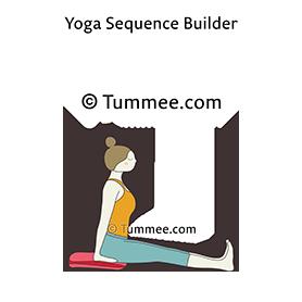 staff pose blanket yoga dandasana blanket  yoga