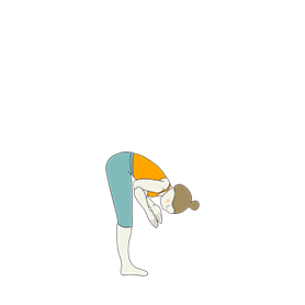 ardha uttanasana yoga upward forward fold  yoga