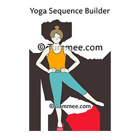 standing hip abduction adduction pose block yoga  yoga