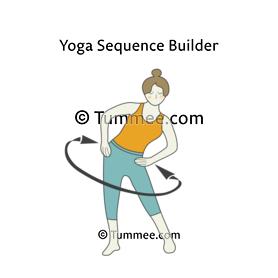 penguin pose yoga  yoga sequences benefits variations
