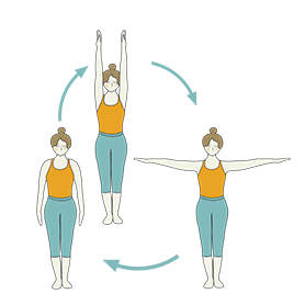 standing yoga warm up poses