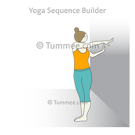 trunk twisting pose yoga kati shakti vikasaka kriya