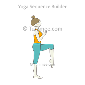 rooster pose yoga  yoga sequences benefits variations