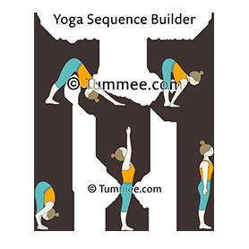 sun salutation a second half yoga surya namaskar a second