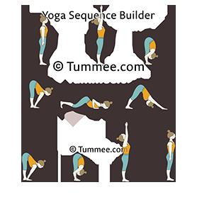 sun salutation a variation yoga surya namaskar a