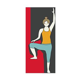 beginner tree pose chair yoga vrksasana beginner chair