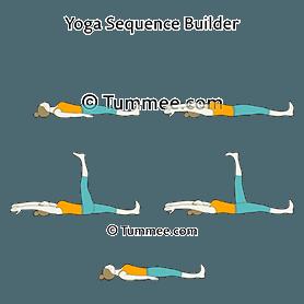 supine tree pose yoga supta vrksasana  yoga sequences
