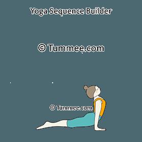 Upward Facing Dog Pose Yoga (Up Dog Pose) | Yoga Sequences ...