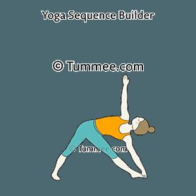 sky archer pose yoga  yoga sequences benefits