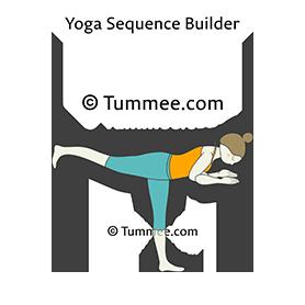 contraindications of garudasana  yoga poses