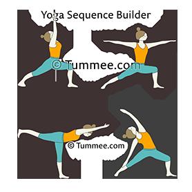 dancing warrior pose yoga dancing virabhadrasana  yoga