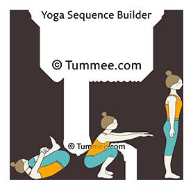 Pawanmuktasana Tadasana Vinyasa Yoga Sequence