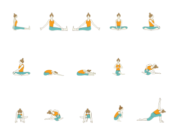 Hatha Yoga - Hip Opening Yoga Sequence: Seated And Supine Yoga Sequence