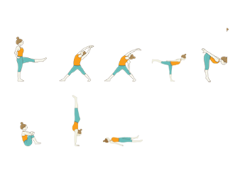 Intermediate Yoga - Yoga Sequence For Swimmers: Aqua Yoga Sequence